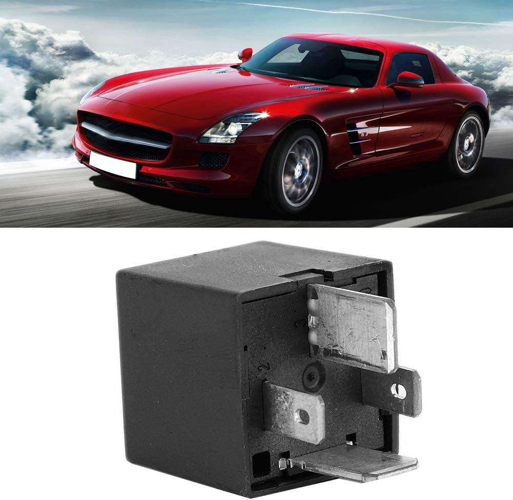 Suuonee Car Relay 12v 70a 80a Universal 4-Pin Car Rel/è Automatico Auto Conversione Allarme Veicolo Rel/è Elettromagnetico Presa