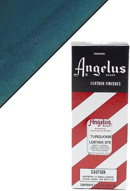 Amazon.com: Angelus Leather Dye Turquoise