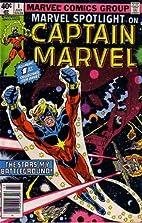 Marvel Spotlight on Captain Marvel, No. 1 by…