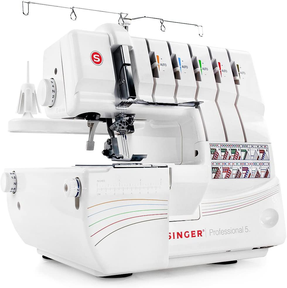 Coverstitch Sewing Machine-Singer Professional 5 14T968DC – Best Coverstitch Machine for Professionals