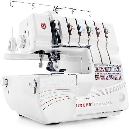 SINGER Professional 5 - Máquina de coser (Eléctrico, Color blanco ...
