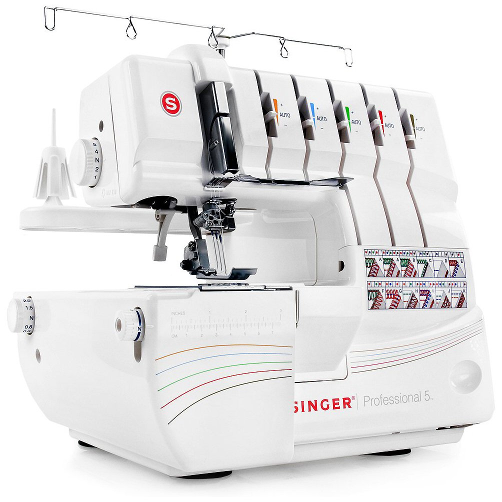 Singer Professional 5 14T968DC Serger with 2-3-4-5 Threaded Reviews 9