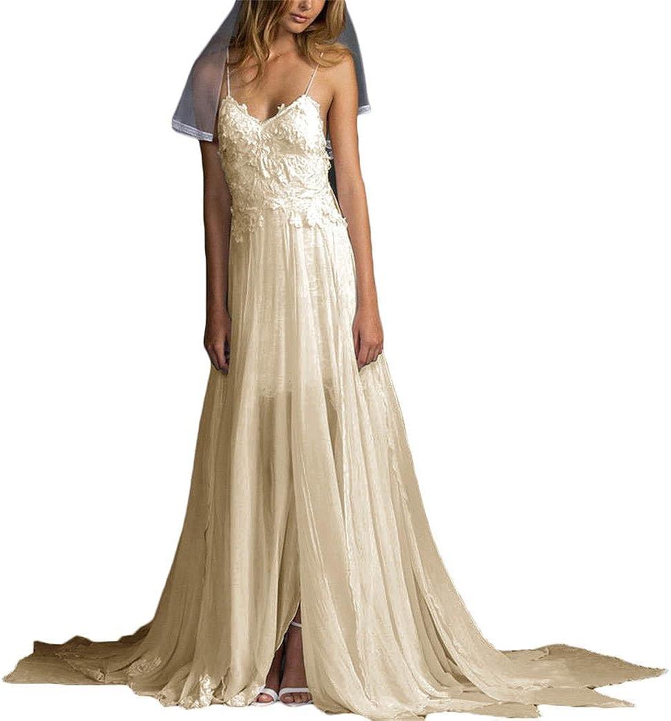 Newdeve Women S Chiffon Long Maxi Beach Wedding Party Dress 14
