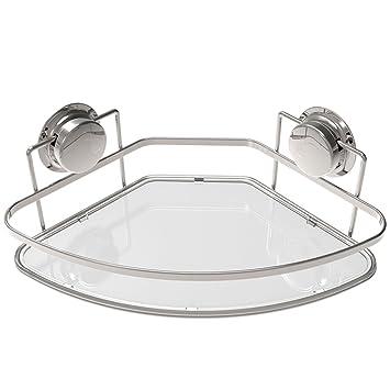 Amazon.com: GAOYANG Estantería de Baño, Esquina de ducha ...