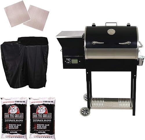 REC TEC Grills RT-340 Portable Wood Pellet Grill