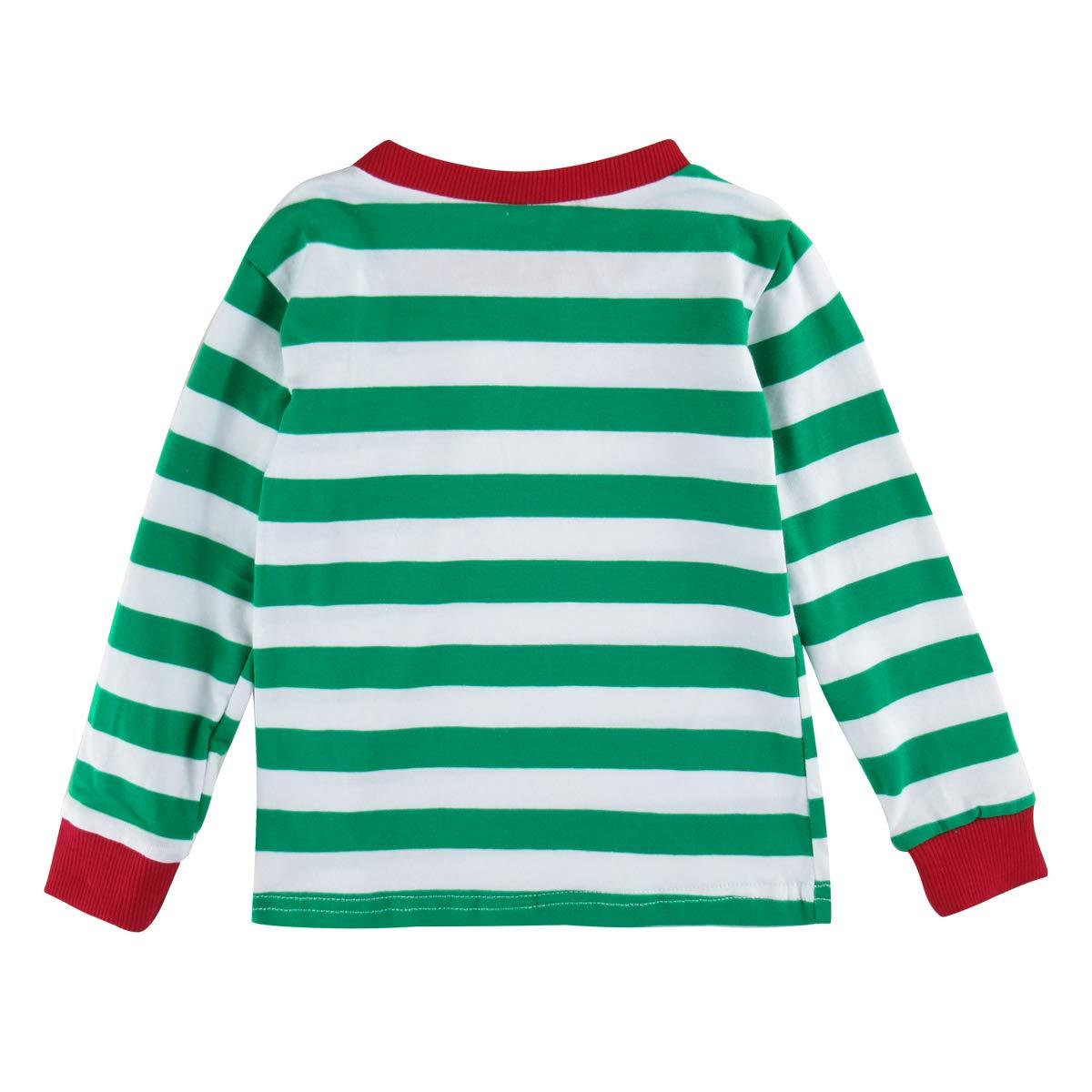 COSLAND Kids Boys Christmas Pajamas 100/% Cotton Sleepwear
