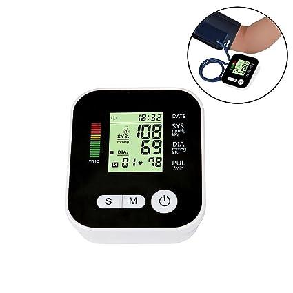 niceeshop (TM) portátil pantalla LCD salida automática brazo monitor de presión arterial – Tensiómetro