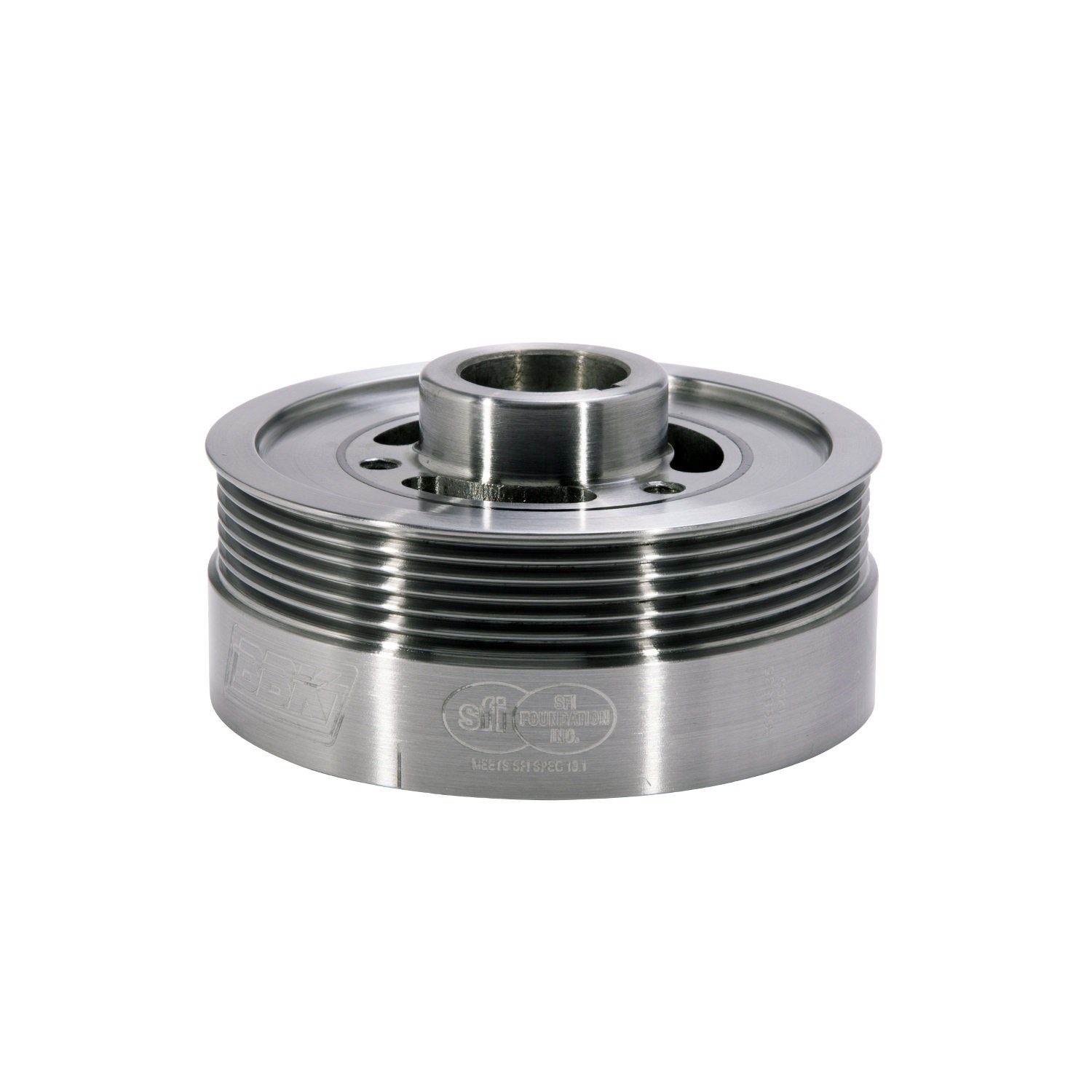 BBK 1653 Underdrive Pulley Kit for Ford Mustang 4.6L-3V GT - SFI Approved Crank Pulley - CNC Machined Lightweight Aluminum WP by BBK Performance (Image #1)