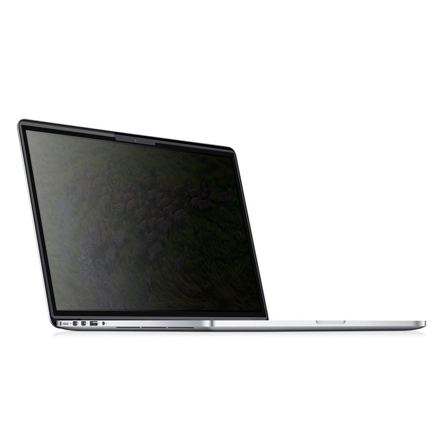 Easy On/Off Removable Privacy Screen Filter for 15.6 inch Edge to Edge Glass Widescreen Laptop - Works on Touchscreens - Please measure carefully