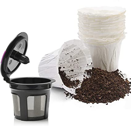 1pc Reusable Coffee Filter Pod Capsule Cups For Keurig Brewer 2.0 1.0 Coffee