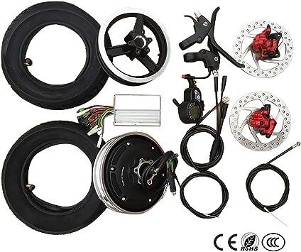 Amazon.com: Kit de conversión de bicicleta eléctrica de 10 ...