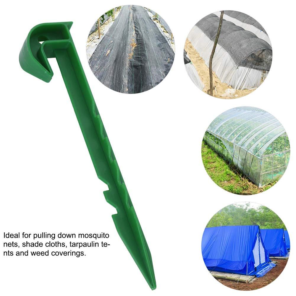 Wifehelper 10 Unids Ground Garden Weed Barrier Fabric Sombreado ...