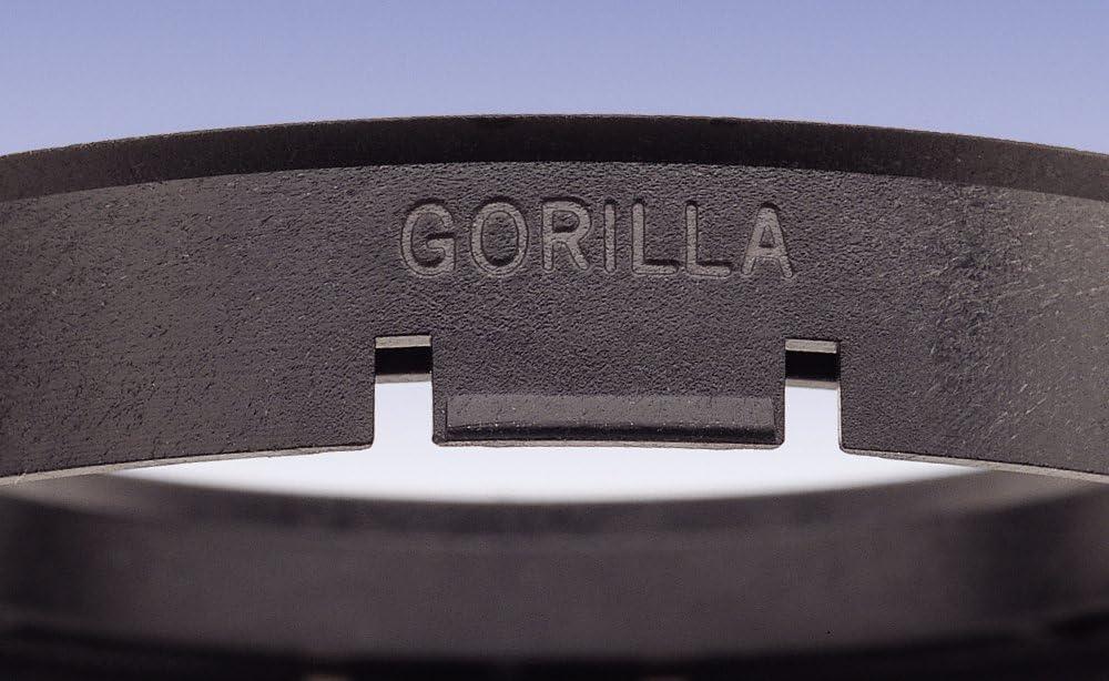 Gorilla Automotive 71-6336 Wheel Hub Centric Rings Pack of 4 71mm OD x 63.36mm ID