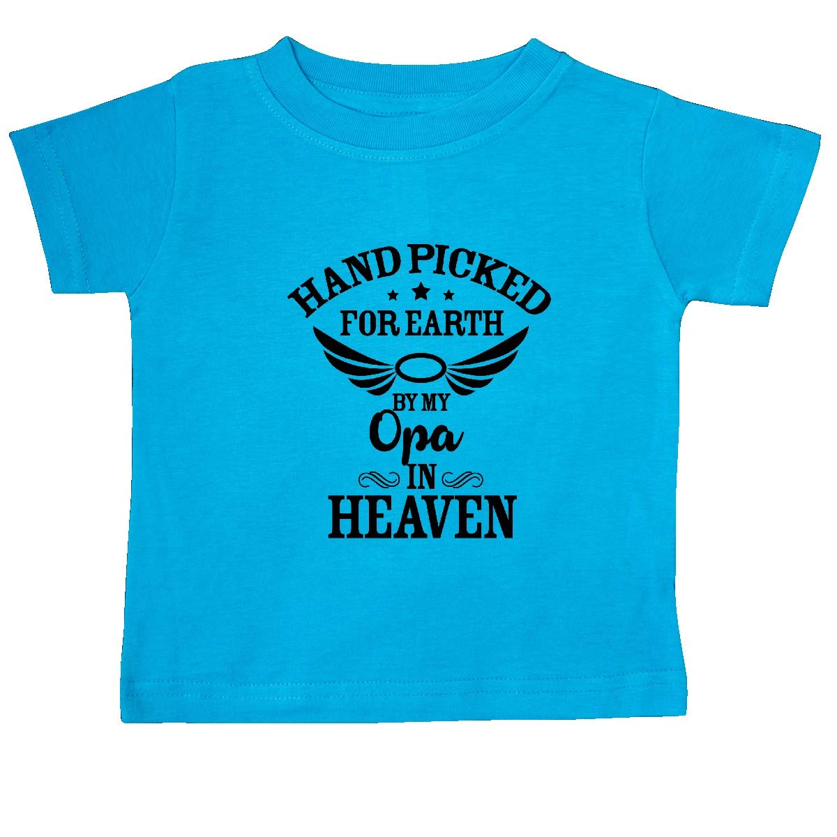 inktastic Handpicked for Earth by My Opa in Heaven Baby T-Shirt