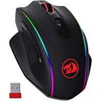 Redragon M686 Wireless Gaming Mouse, 16000 DPI Wired/Wireless Gamer Mouse with Professional Sensor, 45-Hour Durable…