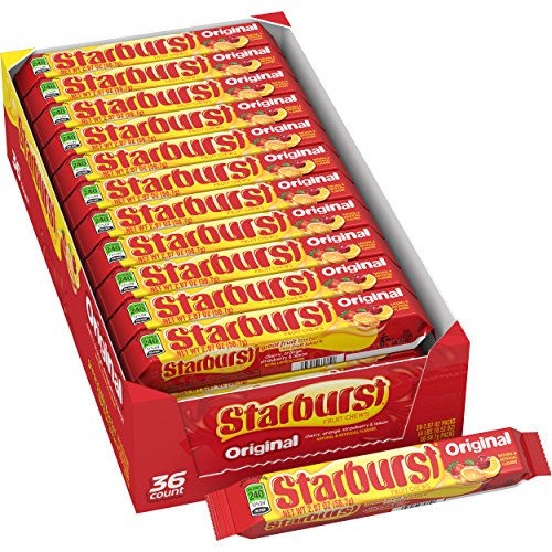Starburst Original Fruit Chews Candy, 2.07 ounce (36