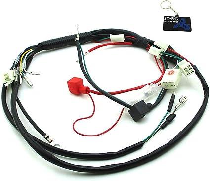 STONEDER Telar de arnés de cableado para chino 50cc 70cc 90cc ...