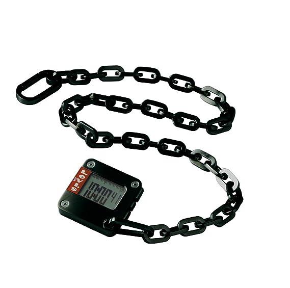 Levis L005GIBHSB - Reloj digital de mujer de cuarzo con correa de acero  inoxidable negra ( d4a24633aff1