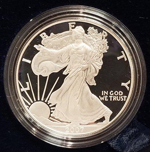 2007 W American Eagle 1 Ounce Bullion Coin $1 Proof US Mint