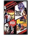 4 Film Favorites: Draculas (Dracula A.D. 1972, Dracula Has Risen from the Grave, Horror of Dracula, Taste the Blood of Dracula) by Warner Home Video