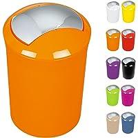 Spirella 1014382 Sydney-Cubo de la Basura, Color Naranja