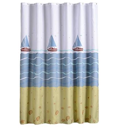 Colorful 180/x 200/cm 80*180cm gespout tenda da doccia impermeabile tenda tende tenda doccia Bagno Tenda da Doccia anelli per bagno Poliestere