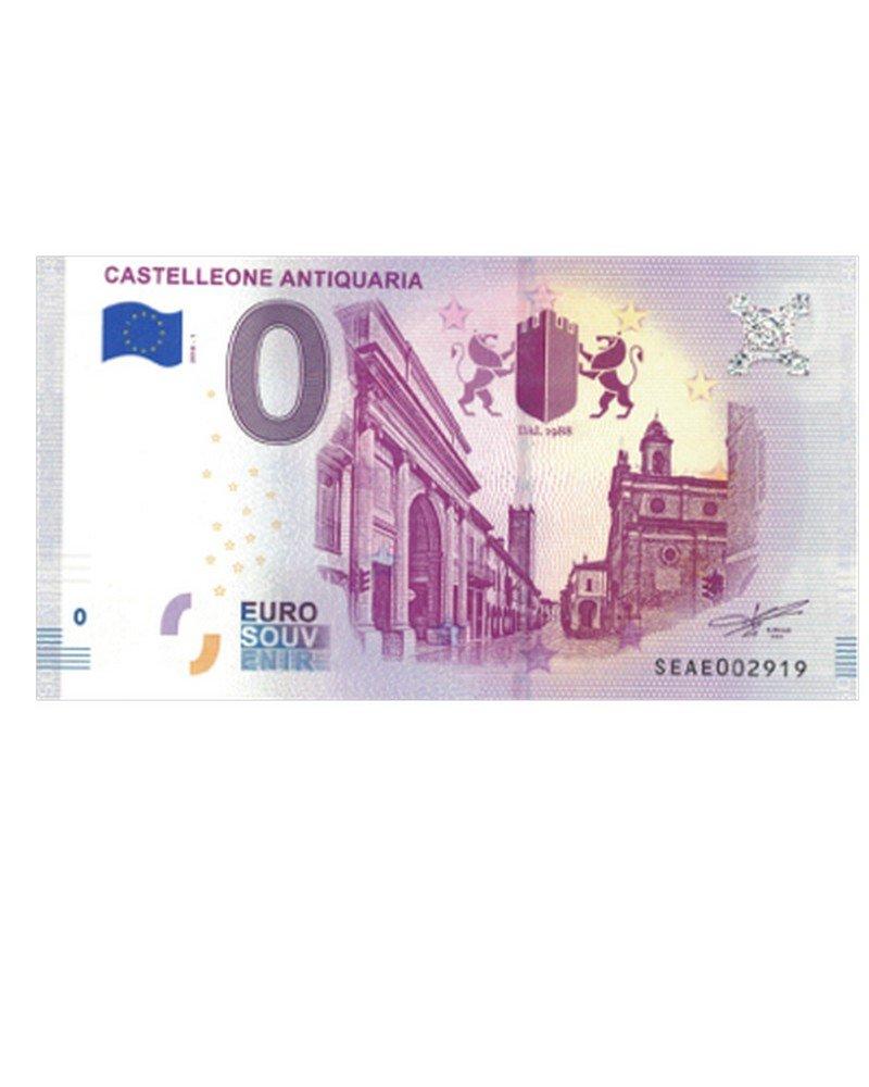 NumiSport€uro Italia 2018 - Castelleone Antiquaria - 0 Zero Euro Souvenir