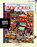New York Puzzle Company - New Yorker Main Street - 1000 Piece Jigsaw Puzzle