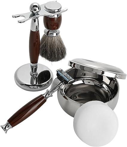 Juego de afeitar de 5 piezas, juego de afeitadora manual para ...