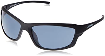 Alpina Sonnenbrille Amition Berryn P Outdoorsport-Brille, White Matt-Black, One Size