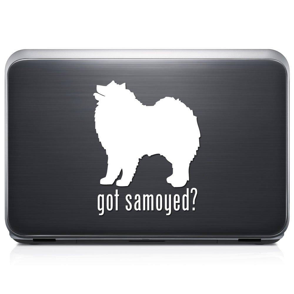 Got Samoyed Dogペット取り外し可能なビニールデカールステッカーforラップトップタブレットWindows壁装飾車トラックオートバイヘルメット (12 in / 30 cm) Tall RSGT294-12MWH (12 in / 30 cm) Tall グロスホワイト B076QKL4SL