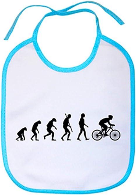 Babero Cyclist Evolution la evolución del ciclista ciclismo ...