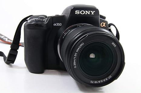 Sony α DSLR-A350 + DT 18-70mm Juego de cámara SLR 14,2 MP CCD 4592 ...