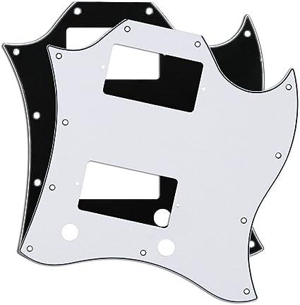 Golpeador de guitarra Fleor placa completa para rayones SG con ...