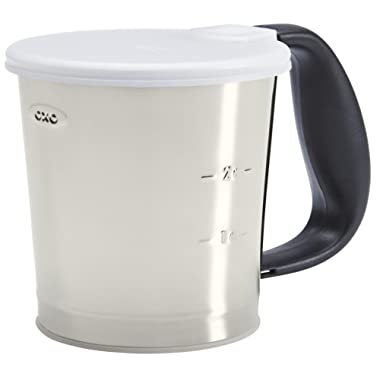 OXO Good Grips 3 Cup Stainless Steel Flour Sifter