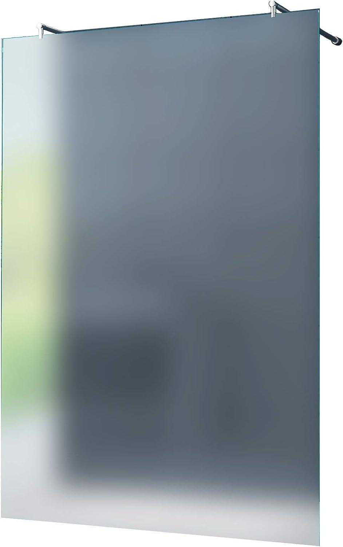 Caraselle – 10 mm Mampara de Düsseldorf, vidrio opalino, Frost 130 x 200 cm/WALK in – Mampara de ducha de ducha pared ducha Vidrio templado: Amazon.es: Bricolaje y herramientas