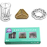 Brain Teaser Puzzle for Adults Puzzles Metal Hole Lock Adult Child Educational Toy Jigsaw IQ Puzzle