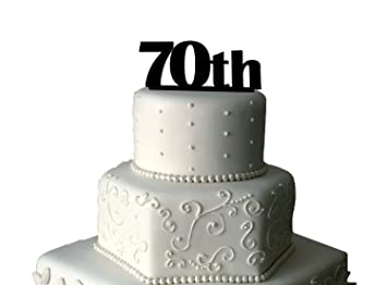 70th birthday cake topper unique 70th birthday cake toppers