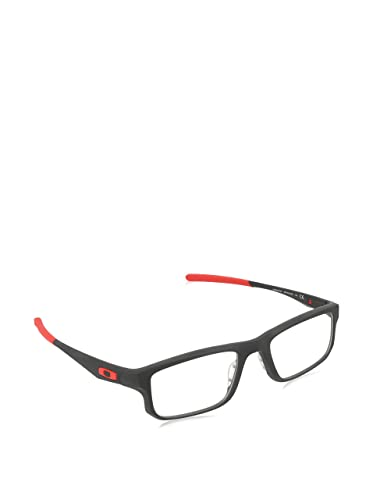 oakley voltage ox8049 eyeglasses 07 satin black 53mm