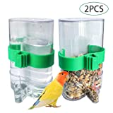 BLSMU Parakeet Water Dispenser,No-Mess Parrot