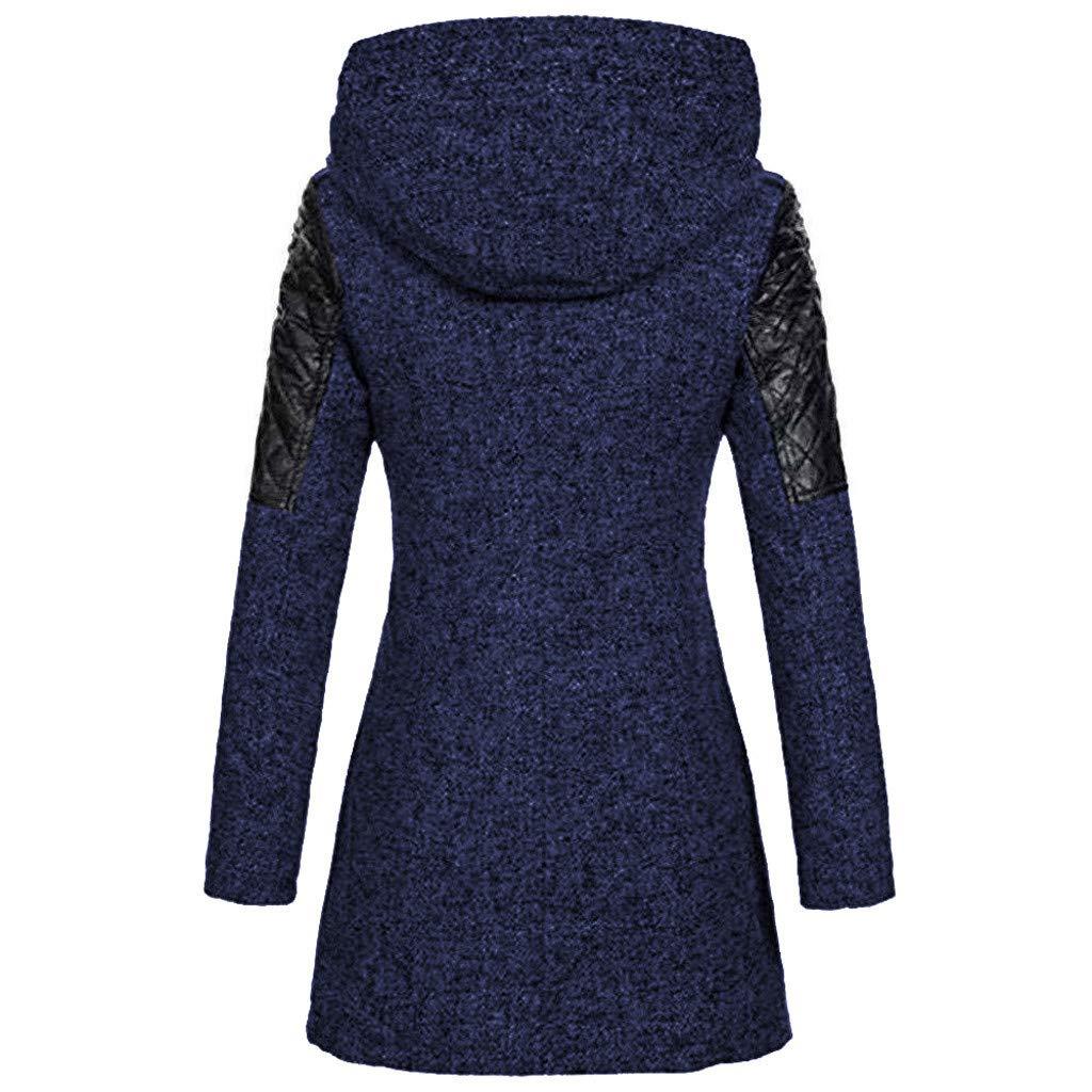 Manteau Femme Hiver Manteau Zipp/é /à Capuche Manteau /éPais Slim Fit dhiver Chaud Manteau Coat pour Femelles