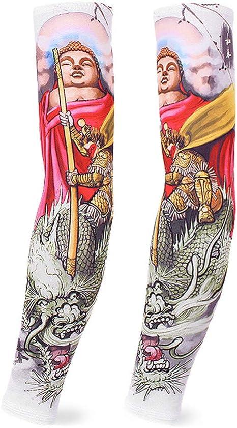 XIUtao Manga Protectora para el Hielo Manga de Hielo Tatuaje para ...