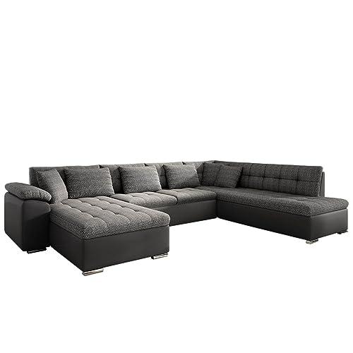 wohnlandschaft kunstleder. Black Bedroom Furniture Sets. Home Design Ideas