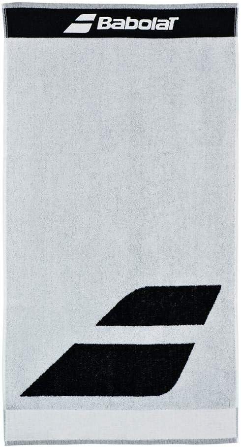 Babolat Serviette Blanc 100 x 50 cm Blue Logo