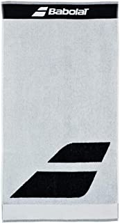 Babolat Serviette Tennis Sport blanc 93 x 50 cm Logo