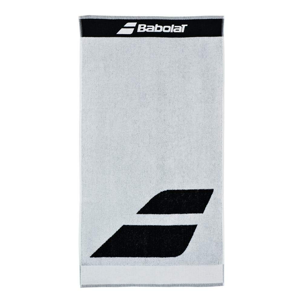 BABOLAT MEDIUM TOWEL - One Size, WHITE/BLACK