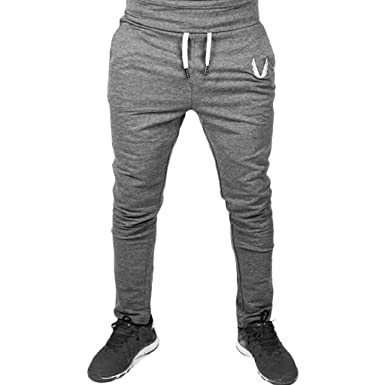 YiMiny 2019 - Pantalones de chándal para Hombre, Ajustados ...