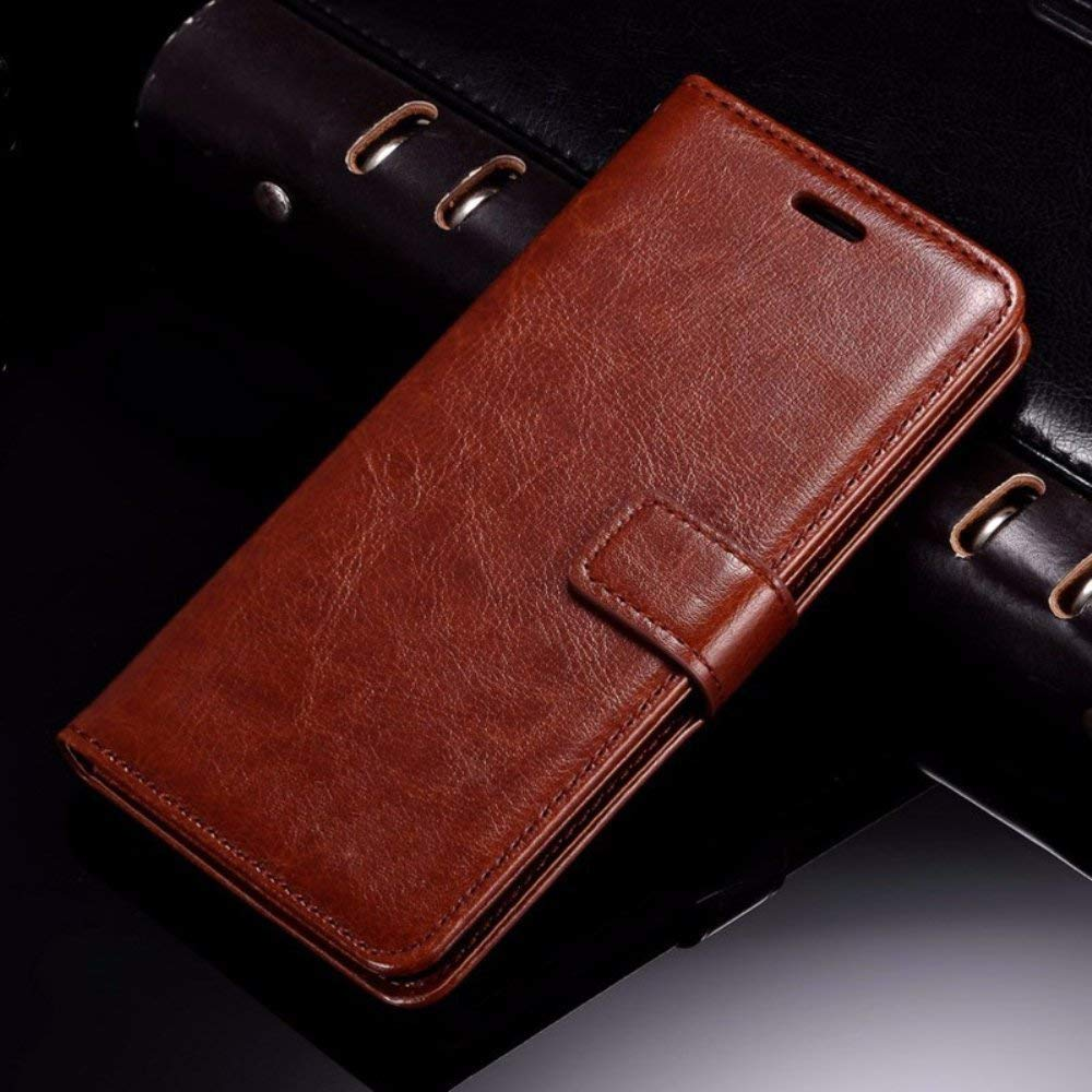 Thinkzy Artificial Leather Flip Cover Case For Redmi 6a Goospery Xiaomi Mi 6 Canvas Diary Black Electronics