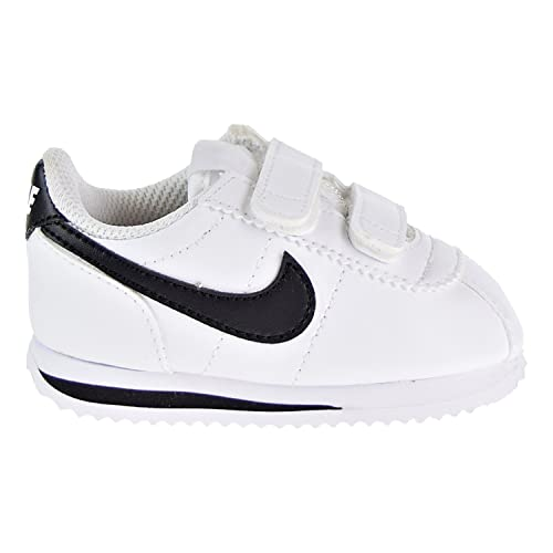 Nike Cortez Basic SL (TDV), Zapatillas de Trail Running Unisex niño, Blanco (White/Black 102), 27 EU: Amazon.es: Zapatos y complementos