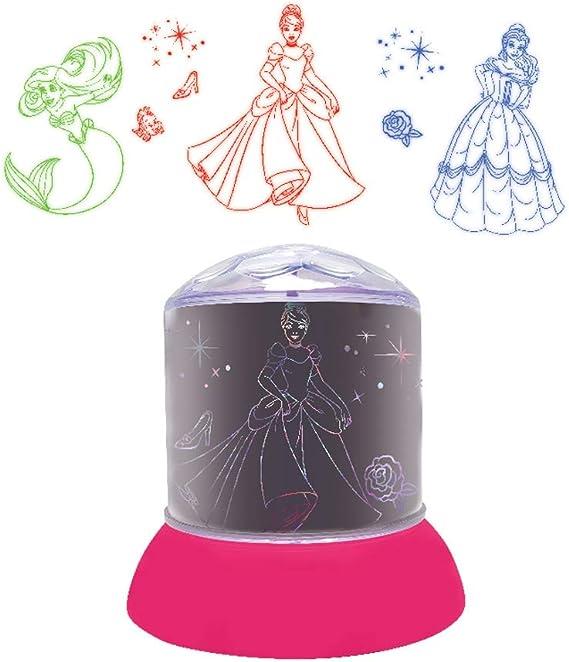 LEXIBOOK Disney Princesas-Luz Nocturna, quitamiedos con ...